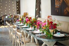 Bright + Colorful Wedding Inspiration design + coordination: Westcott Weddings // photography: Shalyn Nelson of Love, The Nelsons