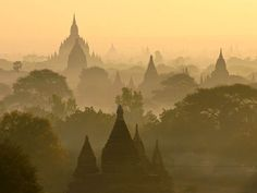 Temples of BAGAN,MYANMAR. there are thousands of temples in a 26 mile radius