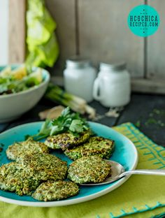 186 calories - P2 hCG Diet Lunch Recipe: Spinach & Chicken Patties - hcghicarecipes.com - Protein + Veggie Meal