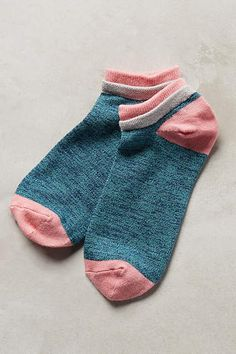 Colorblocked Ankle Socks #anthroregistry