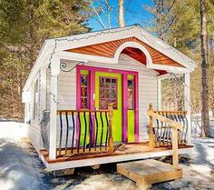 12×26 Tiny House Apple Blossom Cottage