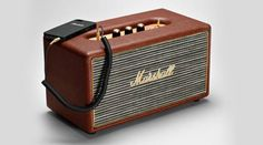 The #MarshallStanmore is a Bluetooth #speaker that looks like a #guitar amp and #sounds satisfyingly loud and clear.