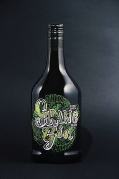 Spring Gin on Behance