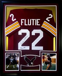Doug Flutie Framed Jersey Signed JSA Authenticated Autographed Boston College BC Mister Mancave http://www.amazon.com/dp/B00MQX2VSS/ref=cm_sw_r_pi_dp_fLKswb03BQP8X