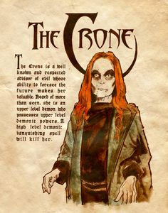 The Crone by Charmed-BOS.deviantart.com on @deviantART