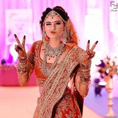 How to pose for Indian Bridal Photo Shoot? - Candy Crow