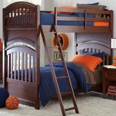 Academy Cinnamon Twin Bunk Bed