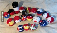 Someone should sell real countryballs in the internet. I bet you get rich and I could buy one for every country I visited in my life