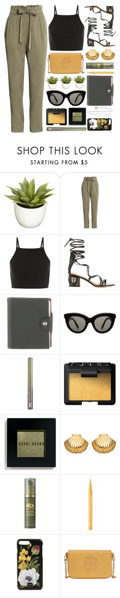 """""""The Right Moment"""" by monmondefou ❤ liked on Polyvore featuring Nearly Natural, Valentino, Hermès, Victoria Beckham, Urban Decay, NARS Cosmetics, Bobbi Brown Cosmetics, Astley Clarke, Origins and Too Faced Cosmetics"""
