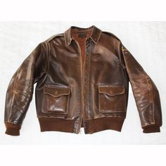 My own Roughwear A2 Flight Jacket in Seal Brown