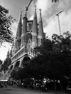 #Barcelona, #SagradaFamilia Cathedral, Barcelona, Building, Travel, Sagrada Familia, Viajes, Buildings, Cathedrals, Barcelona Spain
