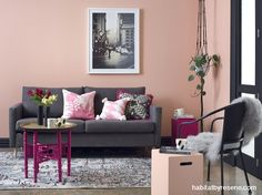 Pink for grown-ups | Habitat by Resene | Pink for grown-ups