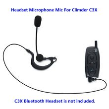 US $9.09 Motorcycle Bluetooth Helme Interphone 3.5mm jack Headset Microphone Mic For Climder C3X Bluetooth Intercom. Aliexpress product