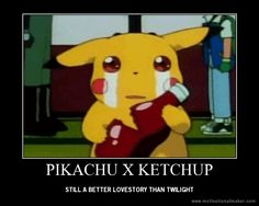 pikachu and ketchup, true love Pokemon Fusion Art, Pokemon Gif, Pokemon Eevee, All Pokemon, Pikachu Ketchup, Cute Pokemon Wallpaper, Sad Pictures, Tiger Art, Beyblade Characters