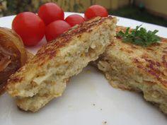 Hamburguesas de pescado Thermomix French Toast, Diet, Breakfast, Healthy, Food, Fish Burger, Hamburgers, Traditional Kitchen, Essen
