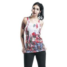 """Top donna """"Abstract"""" del brand #Innocent."""