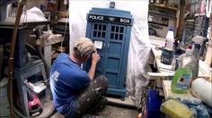 Tardis vitriini Doctor who dvd kokoelmalle.