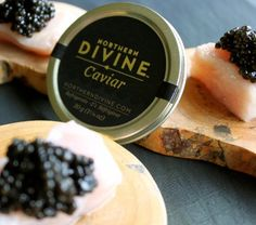 Dark Glossy Pearls Generously Sized and Firm on the Palette - Guaranteed to Delight With Smooth Buttery Texture and Faint Suggestion of Ocean Spray. See Two Tin Option for Best Value. The Pre-eminent Choice For Consumers Looking For A Gourmet Solution to Depleted Wild Stock and Hormone/Antibiotic-Laden Farmed Caviars (The Vast Majority) From Egg to Harvest, Sturgeon Receive Individual Care, Fed Only Organic Ingredients and are Raised in Clean Fresh Water From the Surrounding Mountain Ranges…