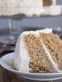 Chai Spice Cake with Vanilla Bean Buttercream (Vegan) | Veggie and the Beast