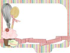 Baking Logo Design, Cake Logo Design, Food Background Wallpapers, Bake Sale Packaging, Cupcake Quotes, Scrapbook Recipe Book, Recipe Book Design, Cupcakes Wallpaper, Candy Logo