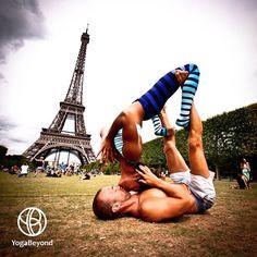 'Waterfall Kiss' by Honza #yoga
