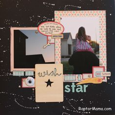 RaptorMama tutorial- Star background with paint pen