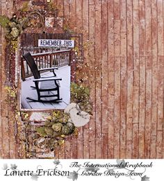 International Scrapbook Garden -Remember This - Scrapbook.com