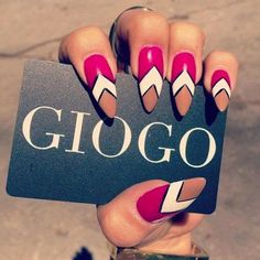 These Days Its All About Stiletto Nails  | See more at http://www.nailsss.com/acrylic-nails-ideas/2/