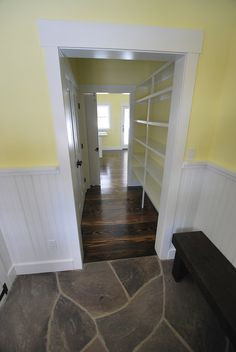 #Farmhouse 20 Interior Shot: Hall, Pantry; Sullivan County Real Estate -- Catskill Farms Journal: Farm 20 - SOLD