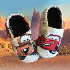 Kiddo Kicks in Disney's Cars - Moon and Back Wishes
