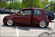 custom vw | Custom Tuning Red VW Lupo | Flickr - Photo Sharing!