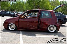 custom vw | Custom Tuning Red VW Lupo | Flickr - Photo Sharing!