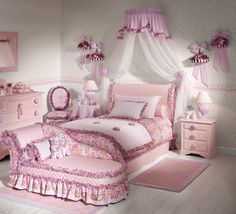 Girls Children's Rooms Furnishing Ideas by La cameretta ideale.. I Love This! <3 I would like to do something similar to this in Adalynn's Room ((: