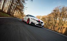 Télécharger fonds d'écran Manhart BMW Performance MH4 550, 4k, 2018 les voitures, la route, la BMW M4 F82, tuning, BMW