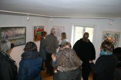 Opening in Hundested Art Association, Denmark 26 of April 2013