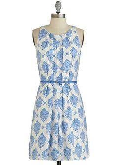 Fresh Spring Rain Dress   Mod Retro Vintage Dresses   ModCloth.com