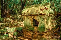 Lycian tomb - Olympos Ancient Ruins, Nature Reserve, Firewood, Mystic, Traveling, Abandoned Homes, Ruins, Castles, Viajes