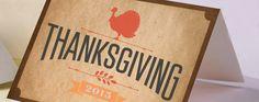 turkey thanksgiving card design