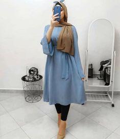 Hijab Fashion Summer, Modest Fashion Hijab, Modern Hijab Fashion, Muslim Women Fashion, Modesty Fashion, Islamic Fashion, Fashion Outfits, Retro Fashion, Fashion Tips