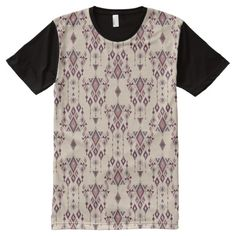 Vintage ethnic tribal aztec ornament All-Over-Print T-Shirt