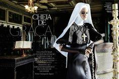 Vogue Brasil - CHEIA DE GRAÇA