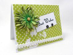 Best Wishes  Wedding Card  Engagement Card  by PrettyByrdDesigns