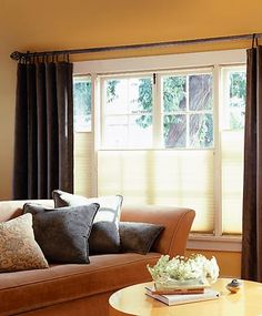 Fairly simple window treatment.  Like the blinds.