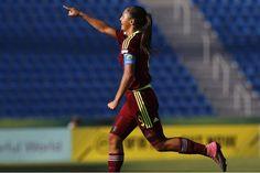Deyna Castellanos Venezuela derrotó a Camerún 2-1 en Mundial Femenino de Fútbol sub-17 3 octubre 201
