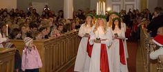 Lucia, Christmas traditions, Finland