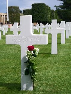 Unknown Soldier, American Cemetery, Normandy, France