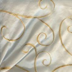 Cream Chateau Rental Linen  #PartyMosaic