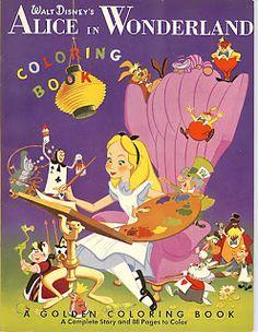 259 best Disney Coloring Books images on Pinterest   Vintage ...