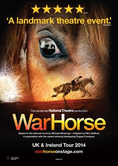 National Theatre's War Horse UK Tour. Arts and Theatre Marketing by N9 Design