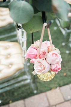 Brandi & Paul | Southern Graces & Company | Lowcountry Bride | Love | Marriage | Wedding | Flowers | Bouquets | Pink and Gold